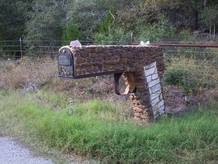 Texas Fortified Mailbox