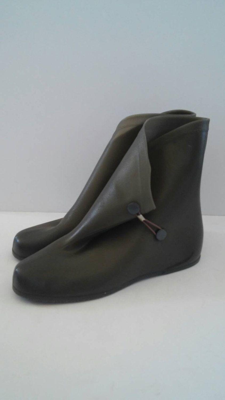 d343d6775af98 Vintage Rubber Boots, Rubber Galoshes, Retro Rainboots, Rain Boot ...