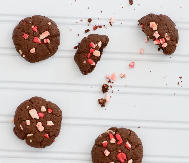 Pretty Darn Healthy Chocolate Peppermint Cookies Almost Supermom