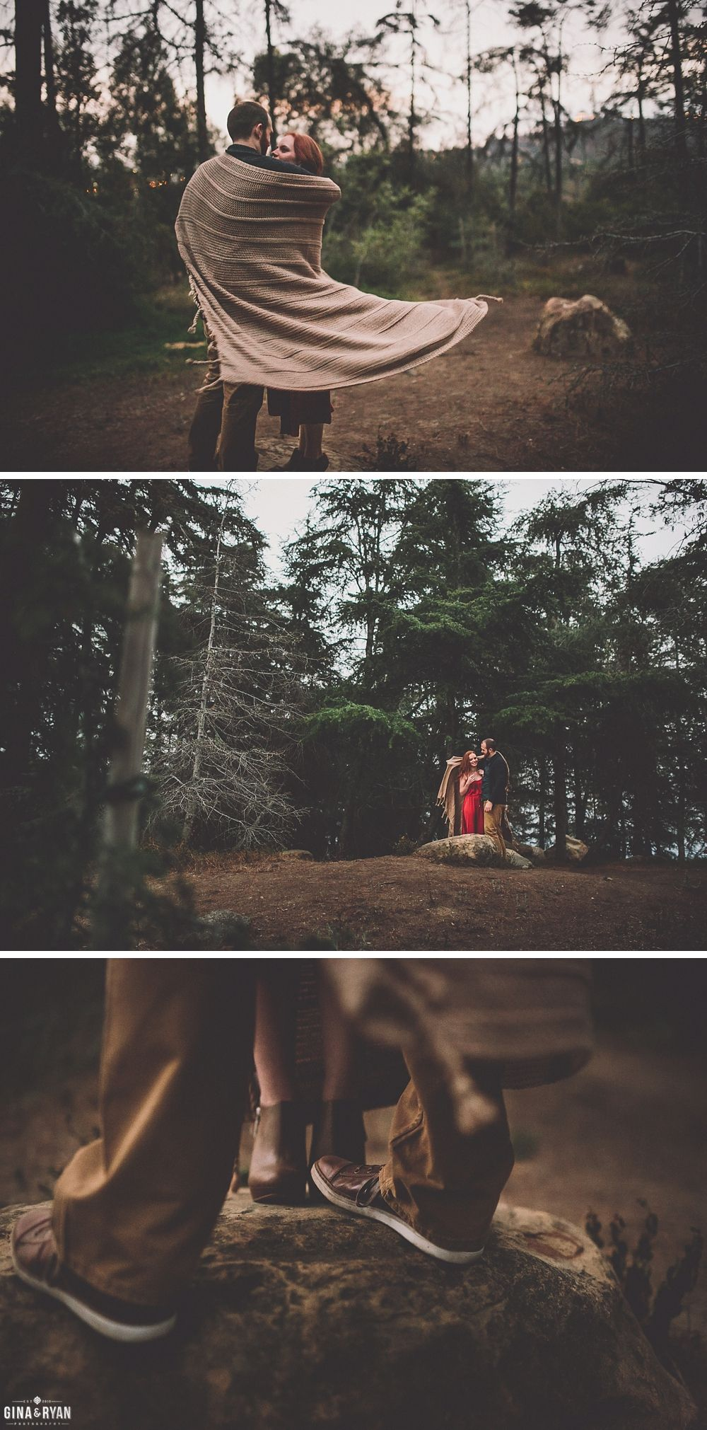 affordable wedding photographers in los angeles%0A Forest Engagement Photos Los Angeles