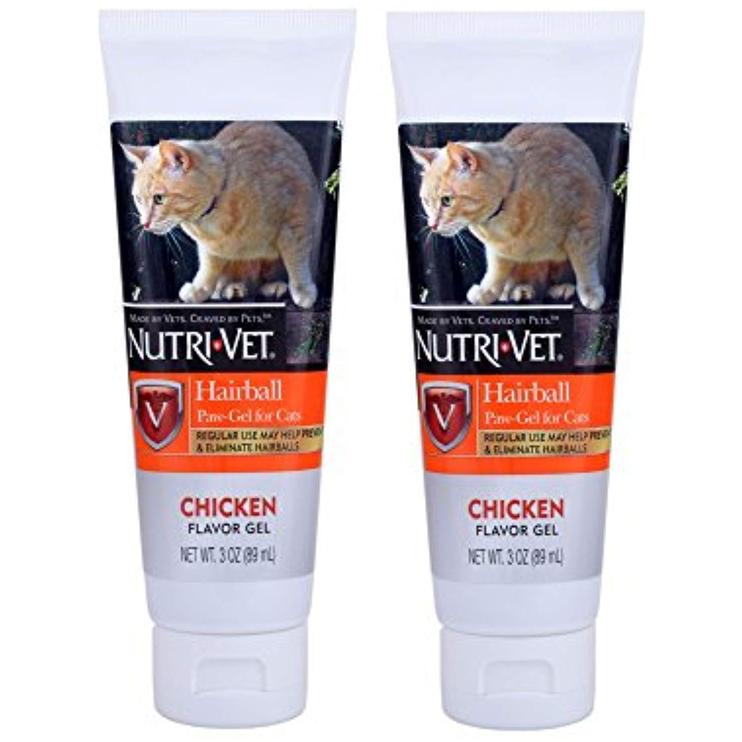 Nutri Vet Feline Natural Oil Hairball Paw Gel Chicken Flavor 3oz 2 Pack Click On The Image For Additional Details Th Chicken Flavors Natural Oils Feline