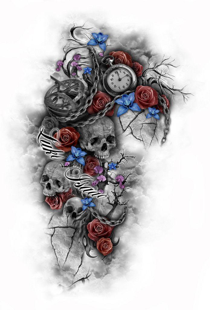 Pin by Gail Dildine on IDEAS Tattoo | Tattoos, Skull ...