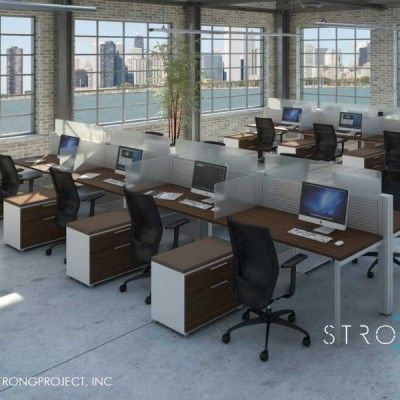 modular office furniture workstations cubicles systems modern rh pinterest co uk
