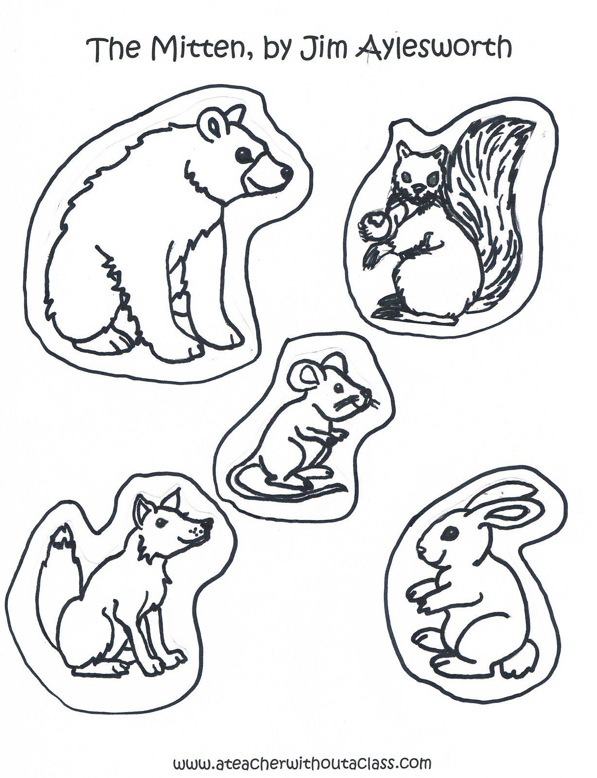 A Teacher Without A Class The Mitten The Animals Animals That Hibernate Mittens Mitten [ 1600 x 1228 Pixel ]