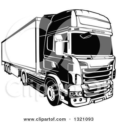 Resultat De Recherche D Images Pour Silhouette Camion Scania Camion Silhouette