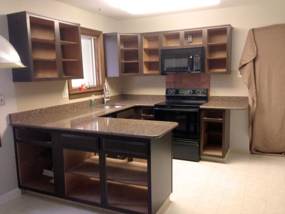 gel staining kitchen cabinets for an easy thrifty update kitchen rh pinterest com