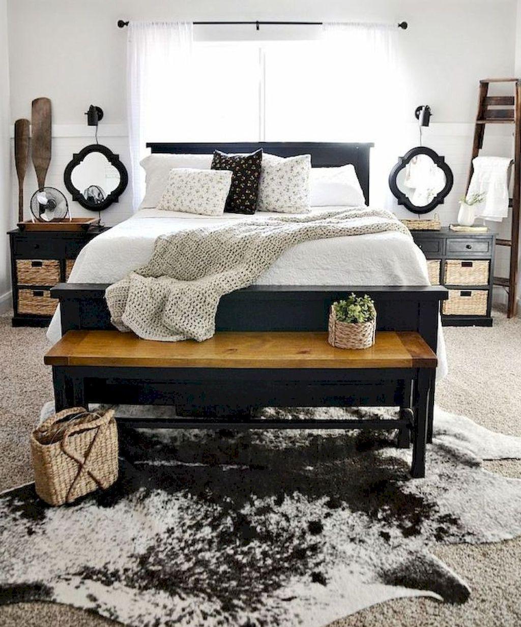 farmhouse style master bedroom ideas 40 farmhouse style master rh in pinterest com