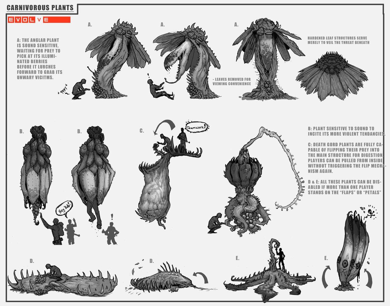 Carnivorous-Plants-pg1 by Stephen-0akley Evolve chart