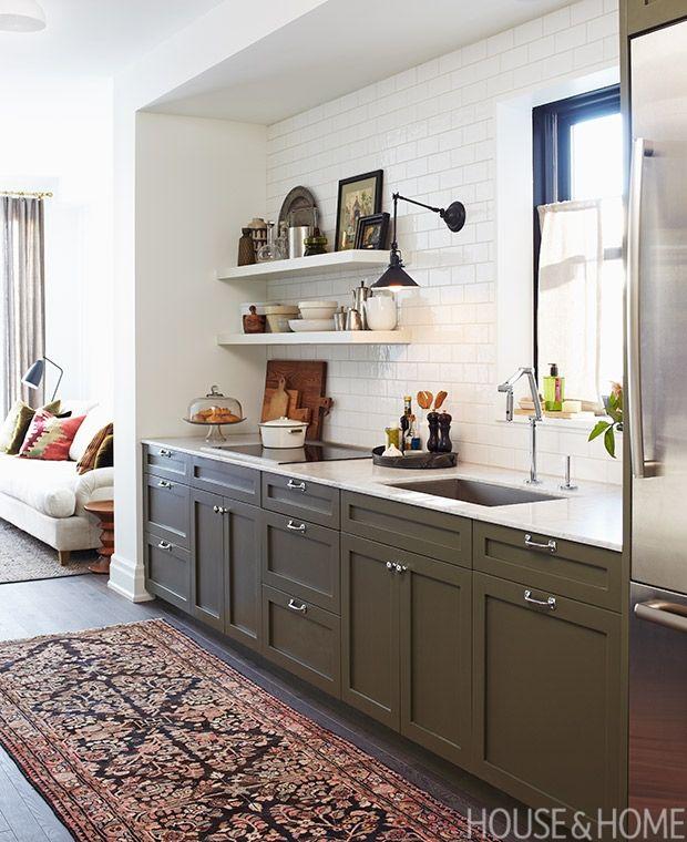 14 bistro and restaurant style kitchens kitchen love green rh pinterest com