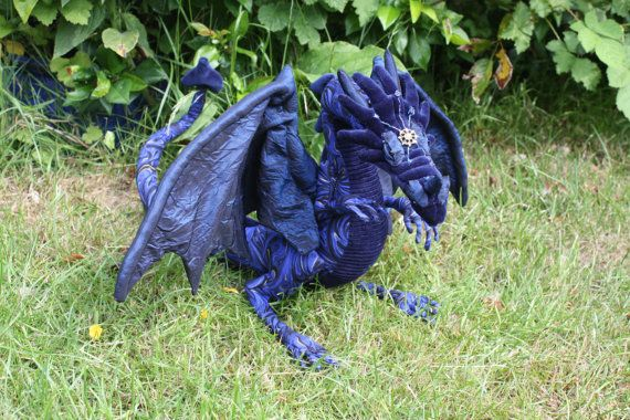 Custom OOAK Dragon Art Doll by voodoomystique on Etsy