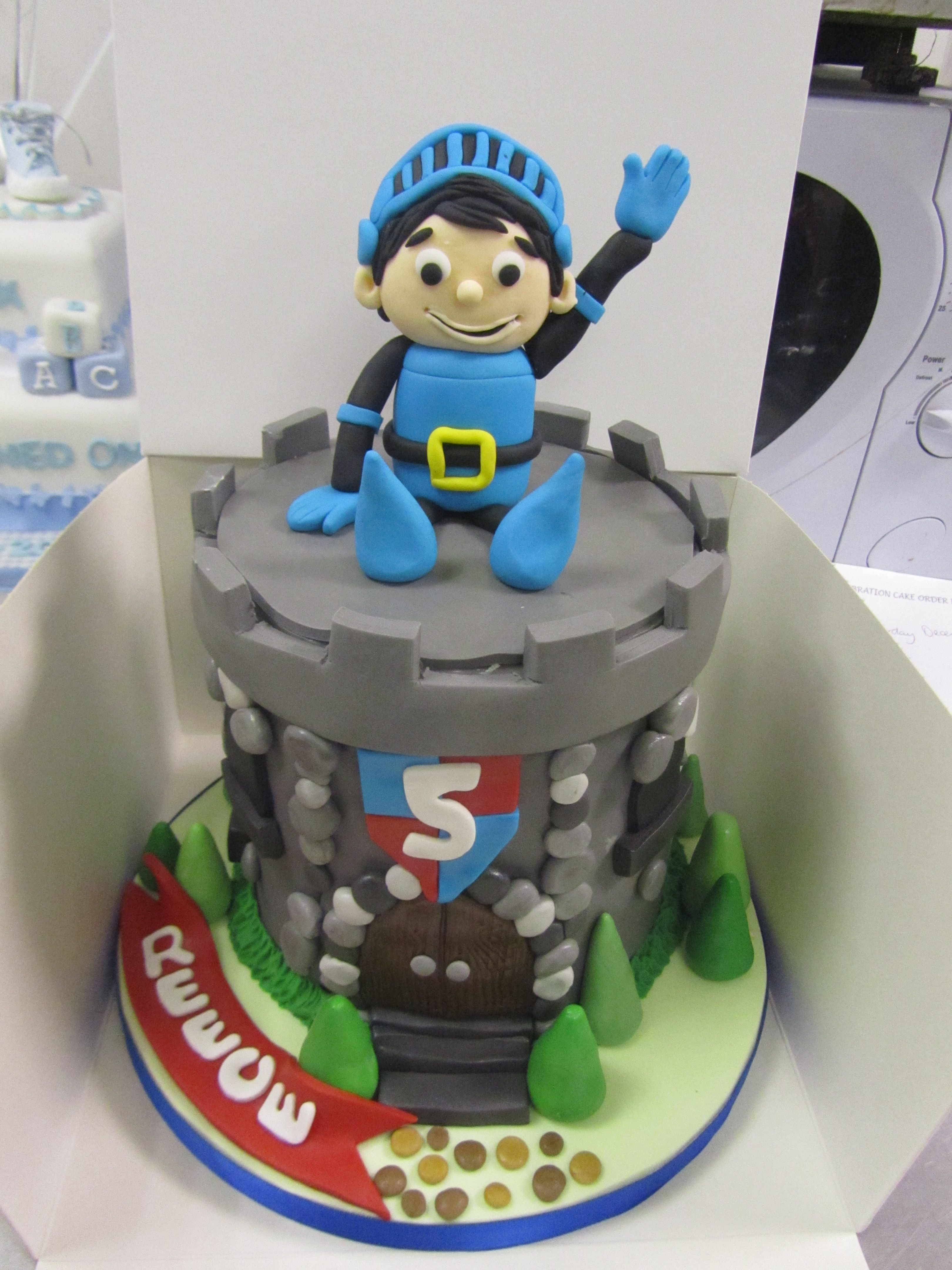 Mike The Knight Cake For Reeces 5th Birthday Childrens Tv And