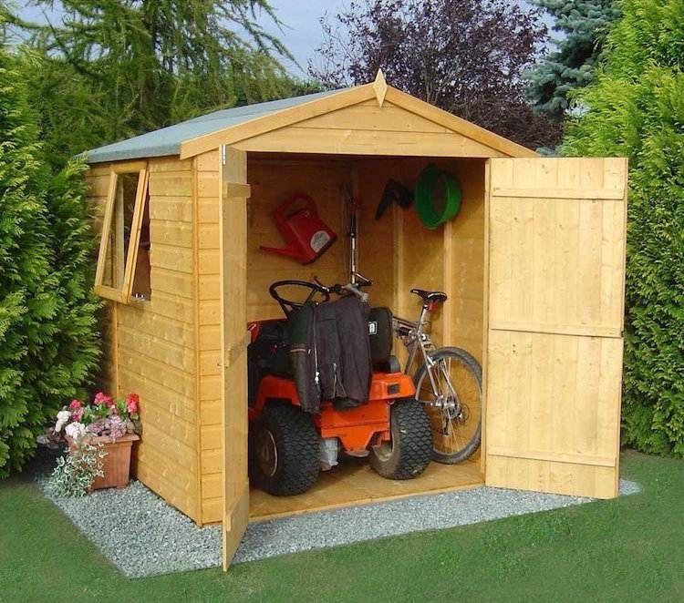 ▷ Comment Construire son abri de jardin en bois u2013 astuces et photos - construire un garage en bois m