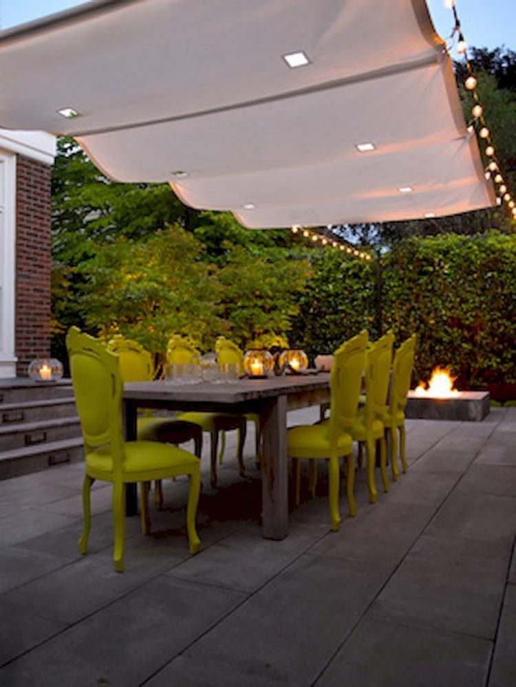 30 clever diy canopy shade for the yard or patio ideas