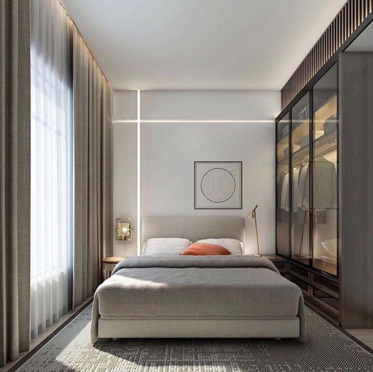 Bedroom. | Apartment bedroom decor, Small apartment ...