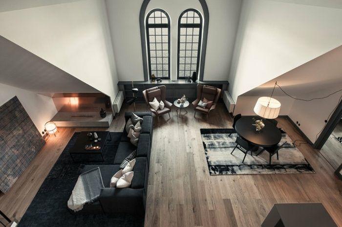 Wohnzimmer ideen schräge wände  Wohnzimmer einrichten Ideen Dachschräge | Dachschräge 2 OG ...