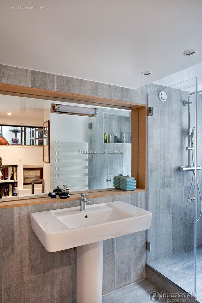 Stylish modern home bathroom design View more
