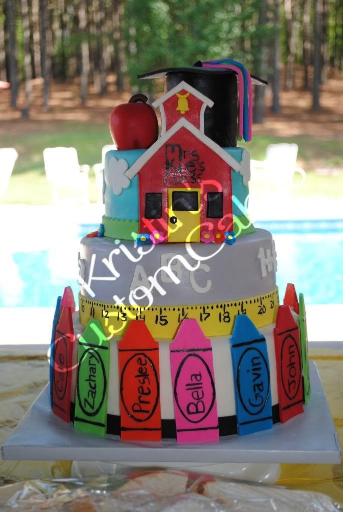 Preschool Graduation Cake I Love This Cake Might Have To Do
