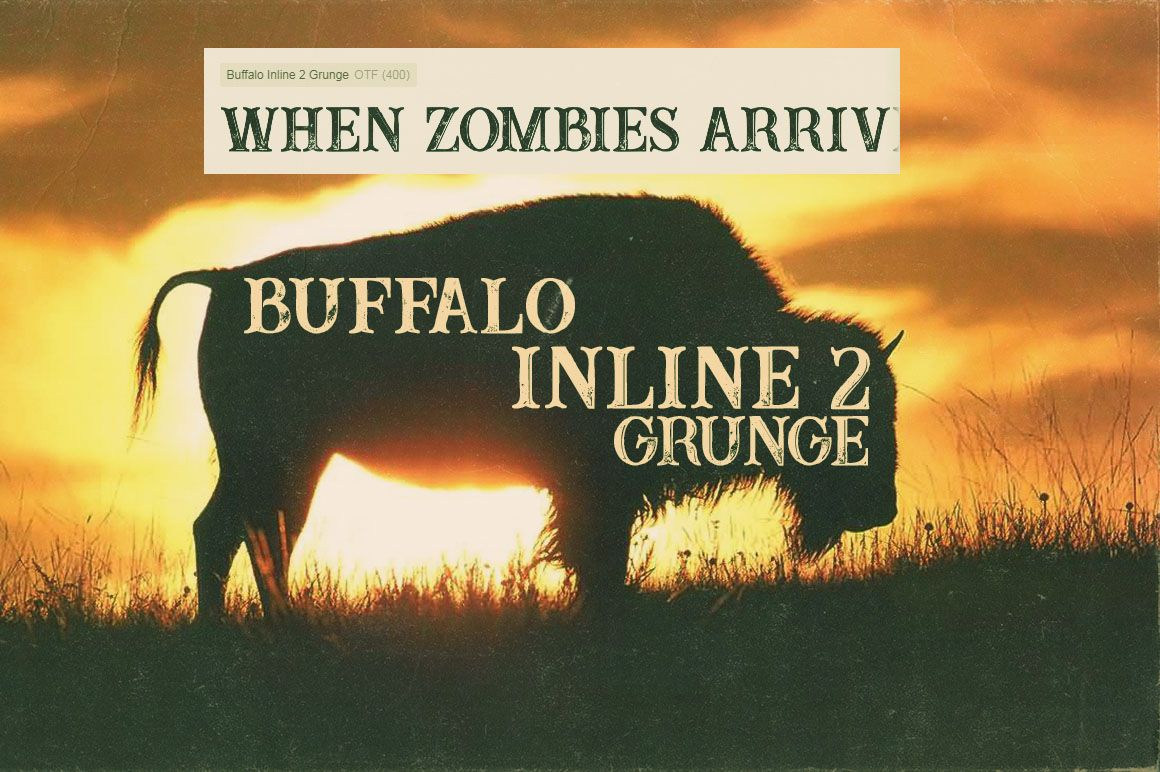 Buffaloinline2grungedeeezy4 Inline Grunge Fonts