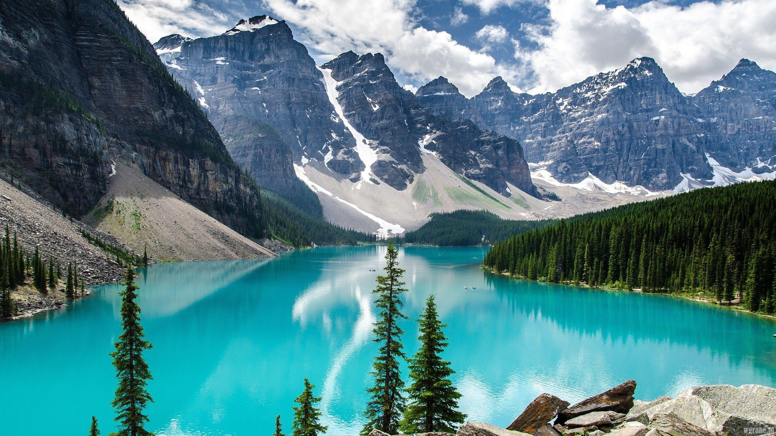 moraine lake 2560 x 1440 wallpaper