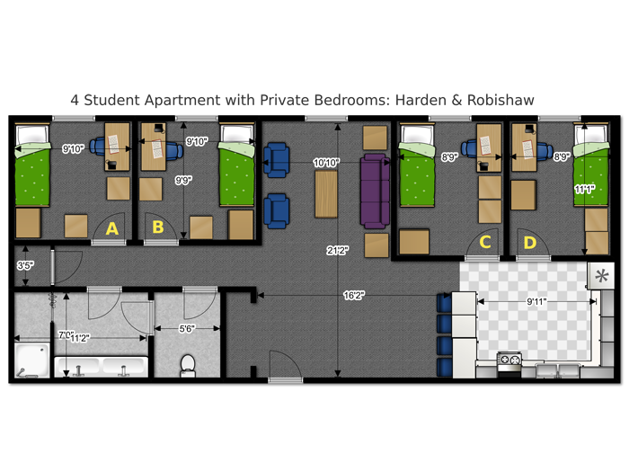 dorm floor plan pdf house plans multi family in 2019 school rh pinterest com