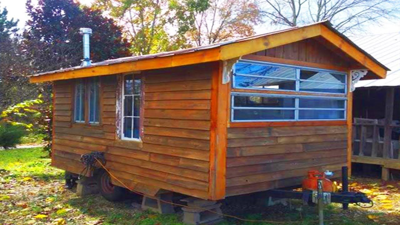 gorgeous beautiful 13ft rustic tiny cabin on wheels tiny on beautiful tiny home ever id=65257