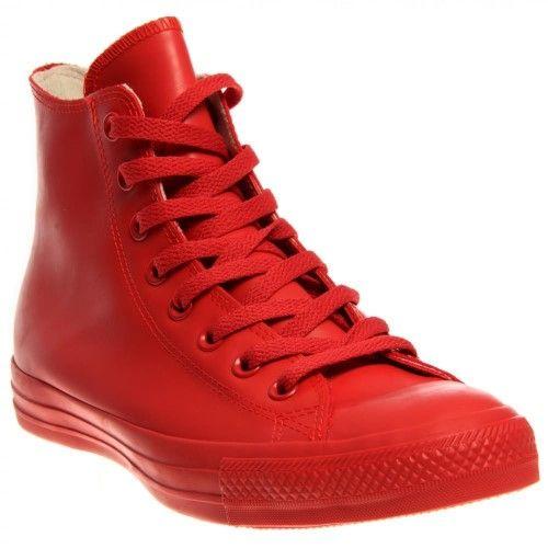 f8610293a5ed92 Women s Chuck Taylor All Star Waterproof Rubber Rain Sneaker