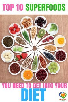 Top 10 Superfoods You Need to Get into Your Diet