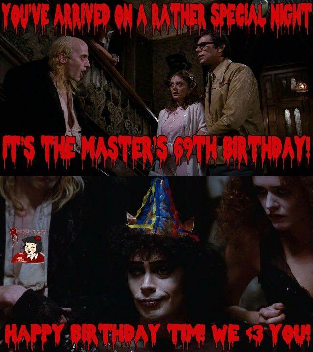 Rhps Happy Birthday Tim