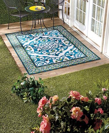 Outdoor Printed Rug Collection Outdoor Rugs Rugs