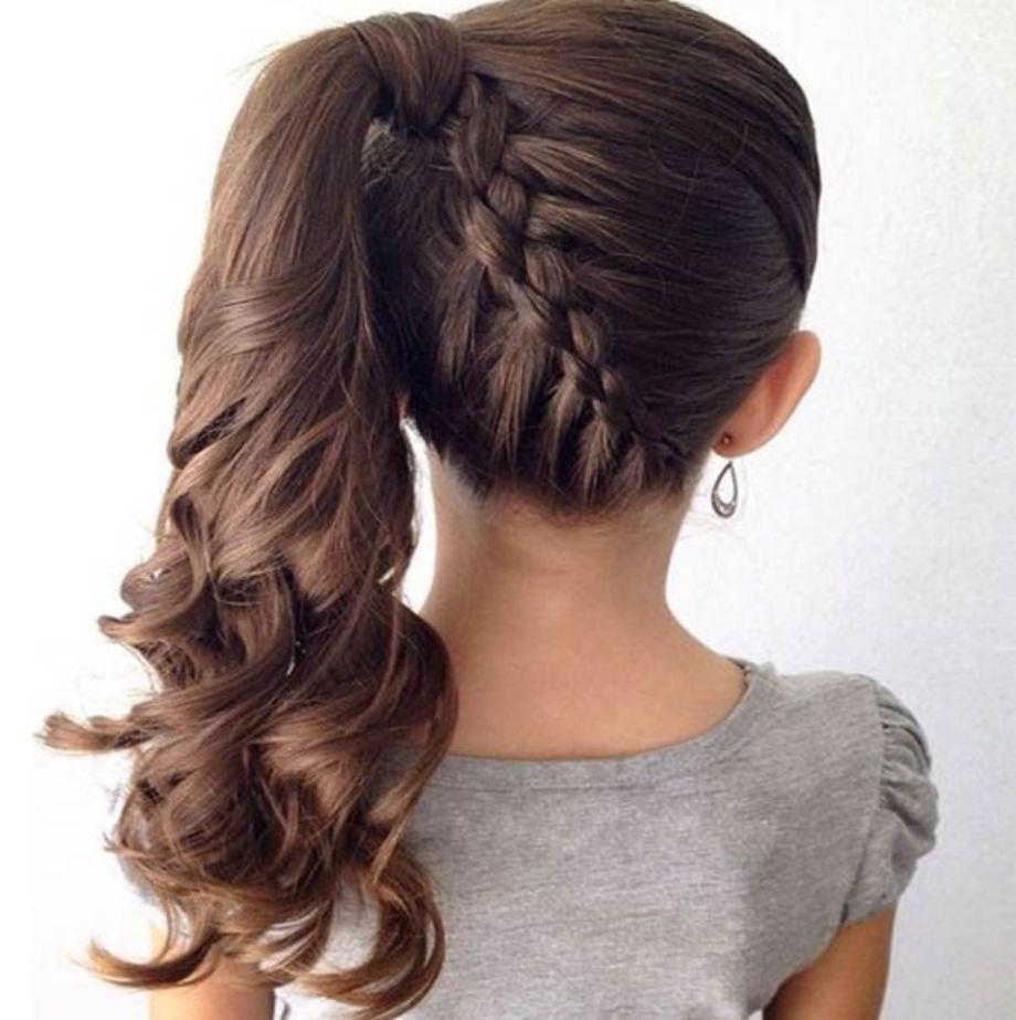 70 Amazing Black Kid Wedding Hairstyle Ideas Vis Wed Little Girl Braid Hairstyles Hair Styles Braided Ponytail Hairstyles