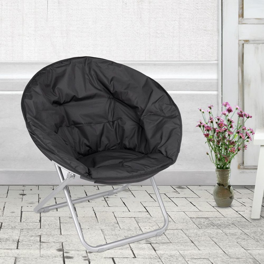 modern chairs for living room%0A BN large Outdoor Moon Chair Oval Roundabout Papasan ChairGreat for Camping  Home  Modern Living Room