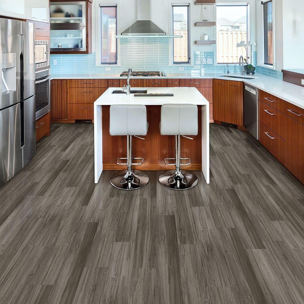 TrafficMASTER Allure 6 In. X 36 In. Dove Maple Luxury Vinyl Plank Flooring  (24 Sq. Ft. / Case)