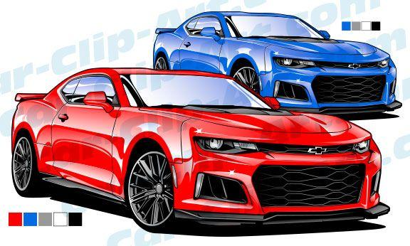 2017 camaro zl1 vector art cartoon cars pinterest cars camaro rh pinterest com