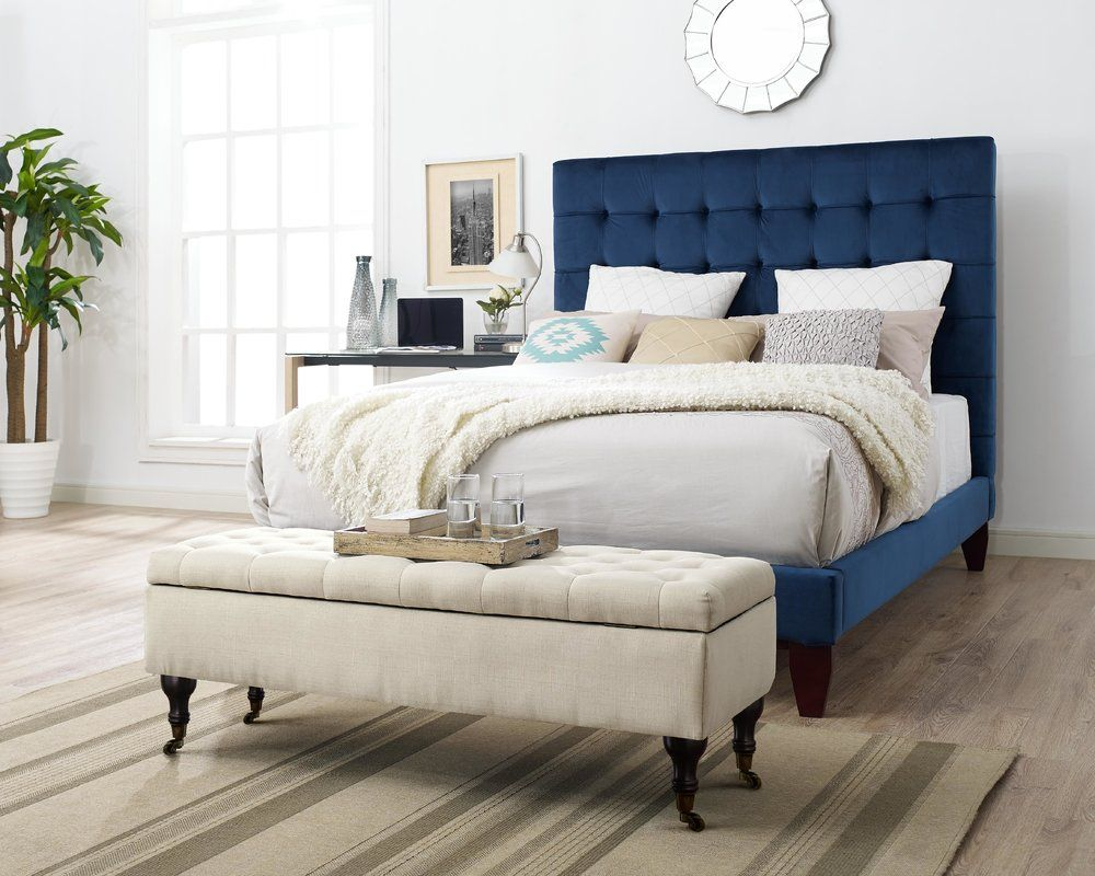 Collette Tufted Upholstered Storage Bench | Bedroom styles ...