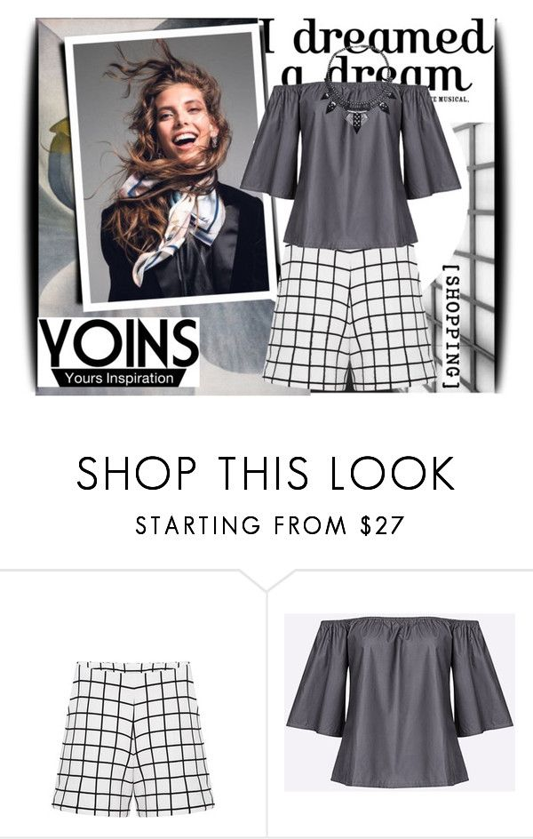 """""""Yoins 17/4"""" by amerlinakasumovic ❤ liked on Polyvore featuring yoins, yoinscollection and loveyoins"""