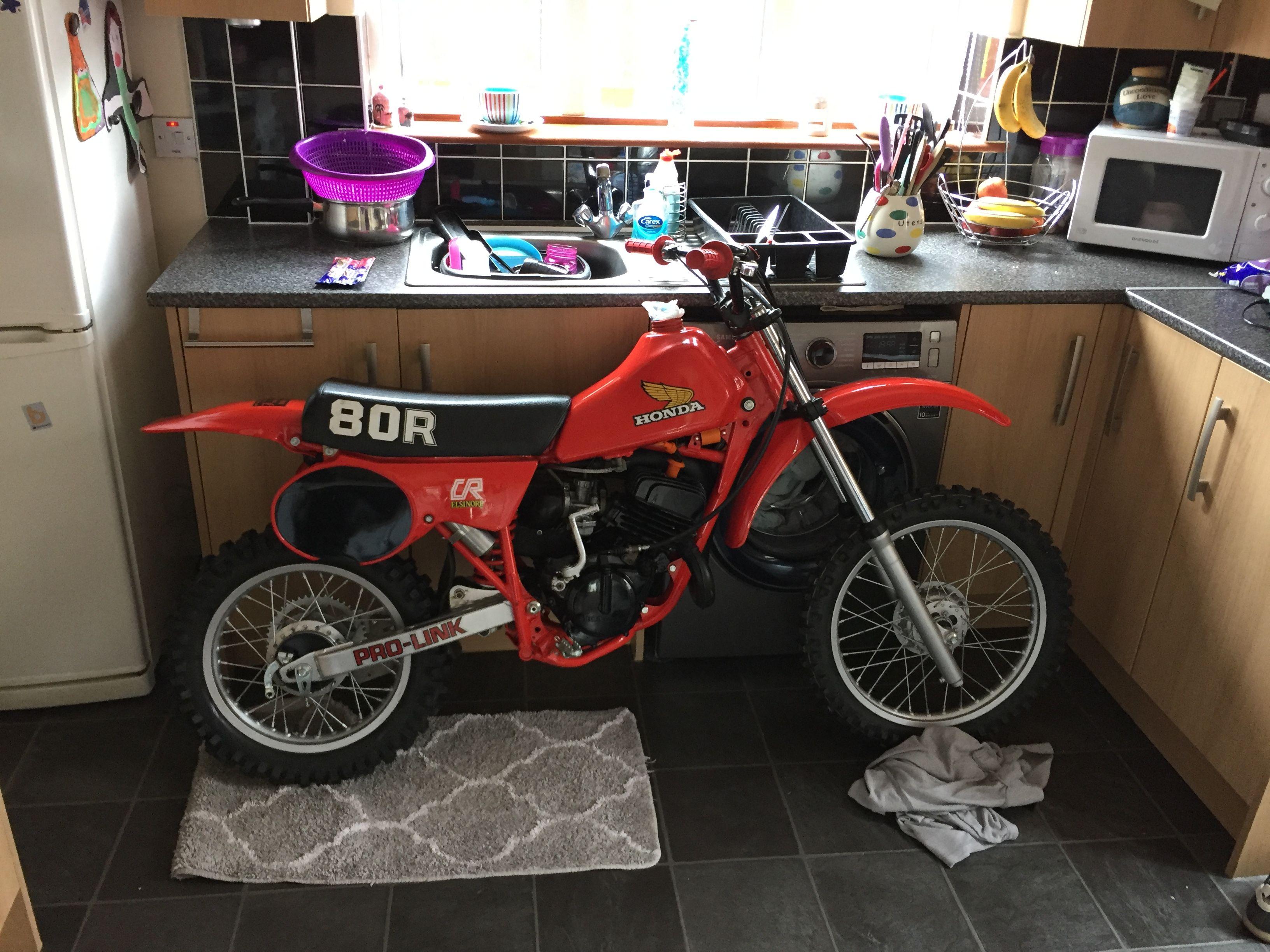 Honda Cr 80 1982 Kitchen Edition Honda Dirt Bike Cool Dirt