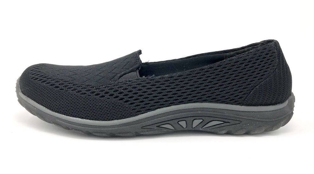Skechers Relaxed Fit Reggae Fest Willow Women/'s Shoes 49244 BLK