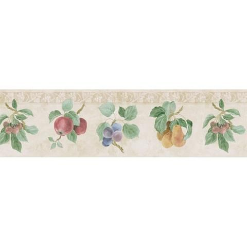 Kitchen Wallpaper Borders   Plates, Wine And Chef Themed Border