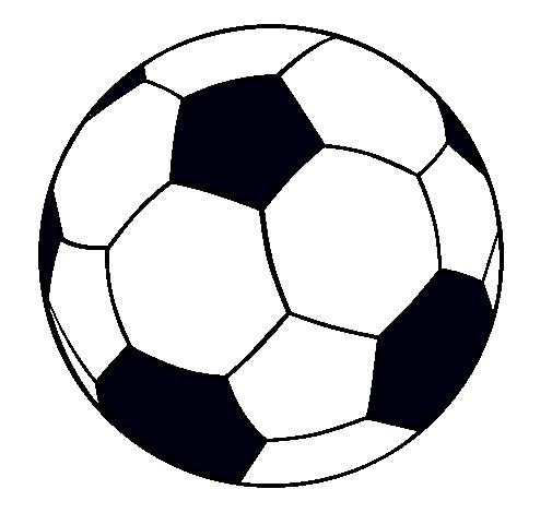 Dibujo Para Colorear Balon Imagui Balones De Futbol