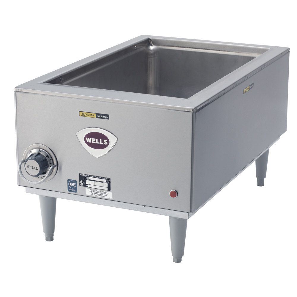 208 240 Volt Wells Smptd 12 X 20 Countertop Food Warmer With