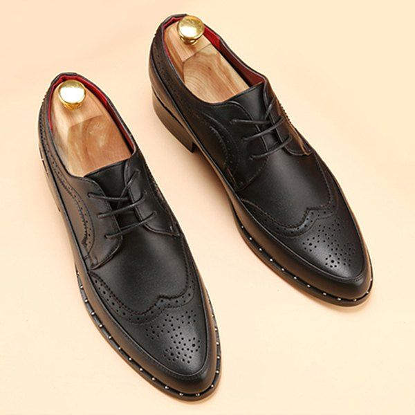 Engraving Point Toe Casual Shoes Manchester sale online cheap sale order 8PVvtDL