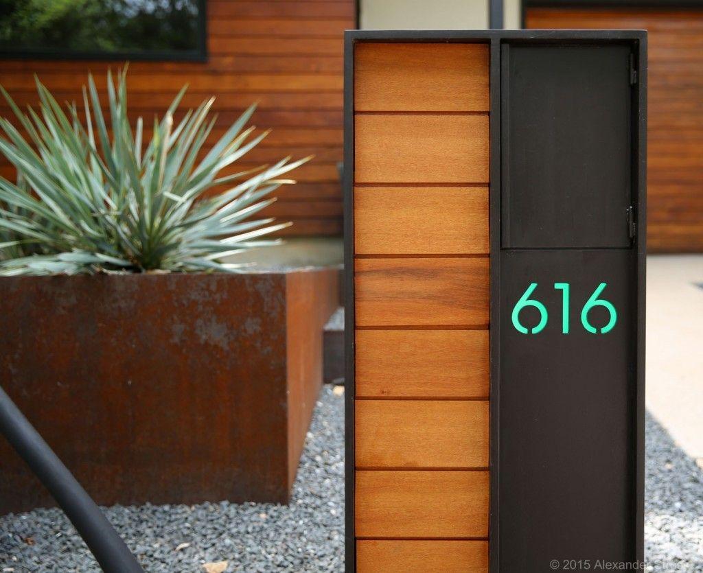 Architecture Alexander Stross Modern Mailbox Mailbox Design Modern Mailbox Post