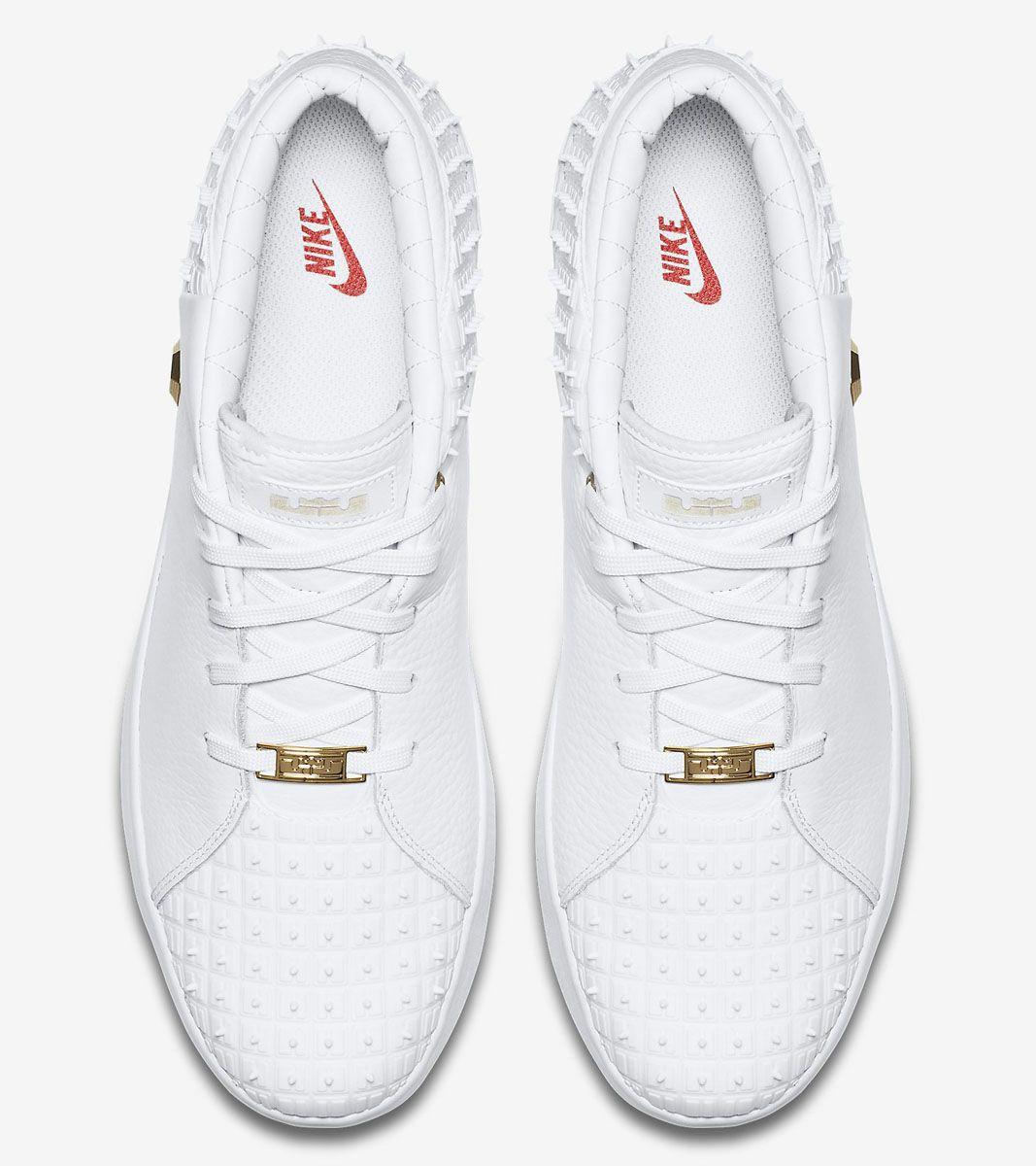 sale retailer e2853 57ca7 Nike LeBron 13 Lifestyle White 806396-100 (5)