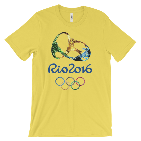 RIO 2016 OLYMPIC LOGO Unisex short sleeve t-shirt