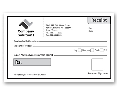 Bill Book Design For Office Receipt Offset Or Digital Printing Book Design Book Print Printing Business Cards