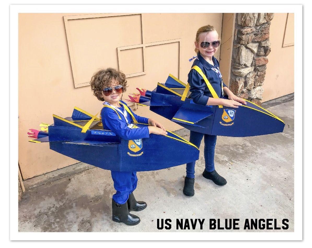 Airplane Halloween Decorations 2020 US Navy Blue Angels Halloween Costume! Jet, pilot, fighter jet