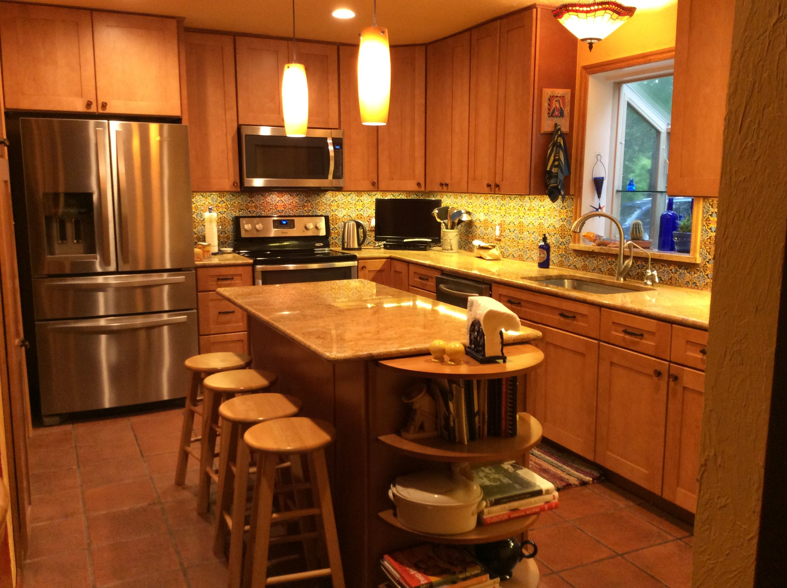 my newly remodeled mexico inspired kitchen mexican tile on the rh pinterest com