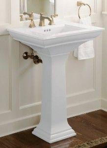 24 Kohler Memoirs Stately Sink Small Bathroom Sinks Pedestal