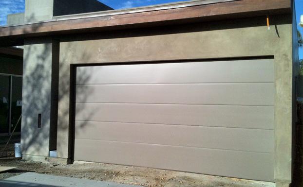 Smooth Finish Modern Garage Door Garage Doors Contemporary Garage Doors Modern Garage Doors