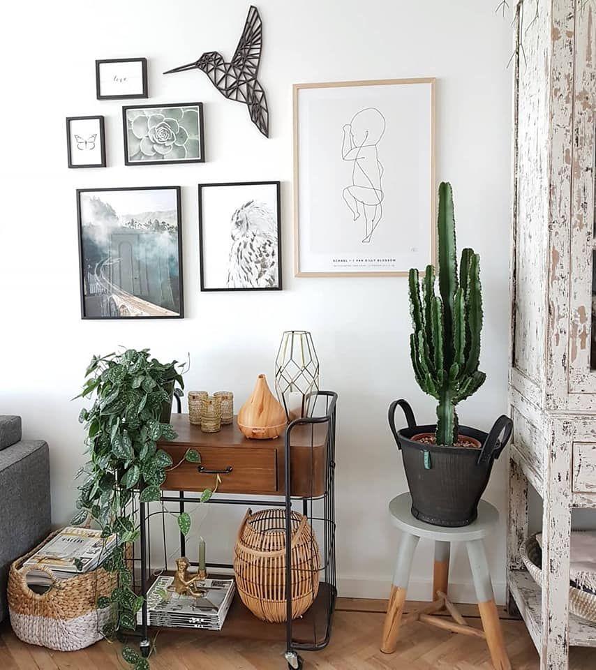 Geometrische Vormen Dieren Een Statement Voor Jouw Interieur Muurdecoratie Decoratie Ideeen Kamer Decoratie